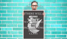 Harry Potter severus snape quote Art Pint - Wall Art Print Poster   - Purple Geekery